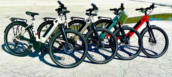 New Arrivals Gazelle Electric Assist E-Bikes